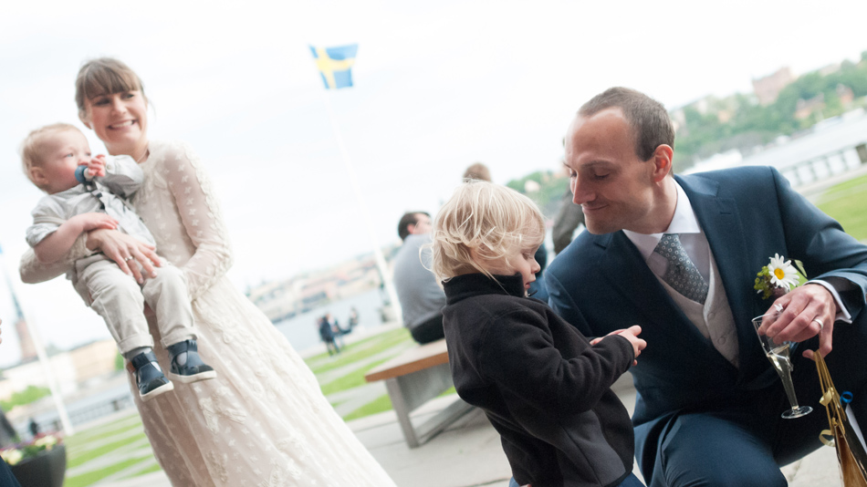 wedding at stockholm city hall