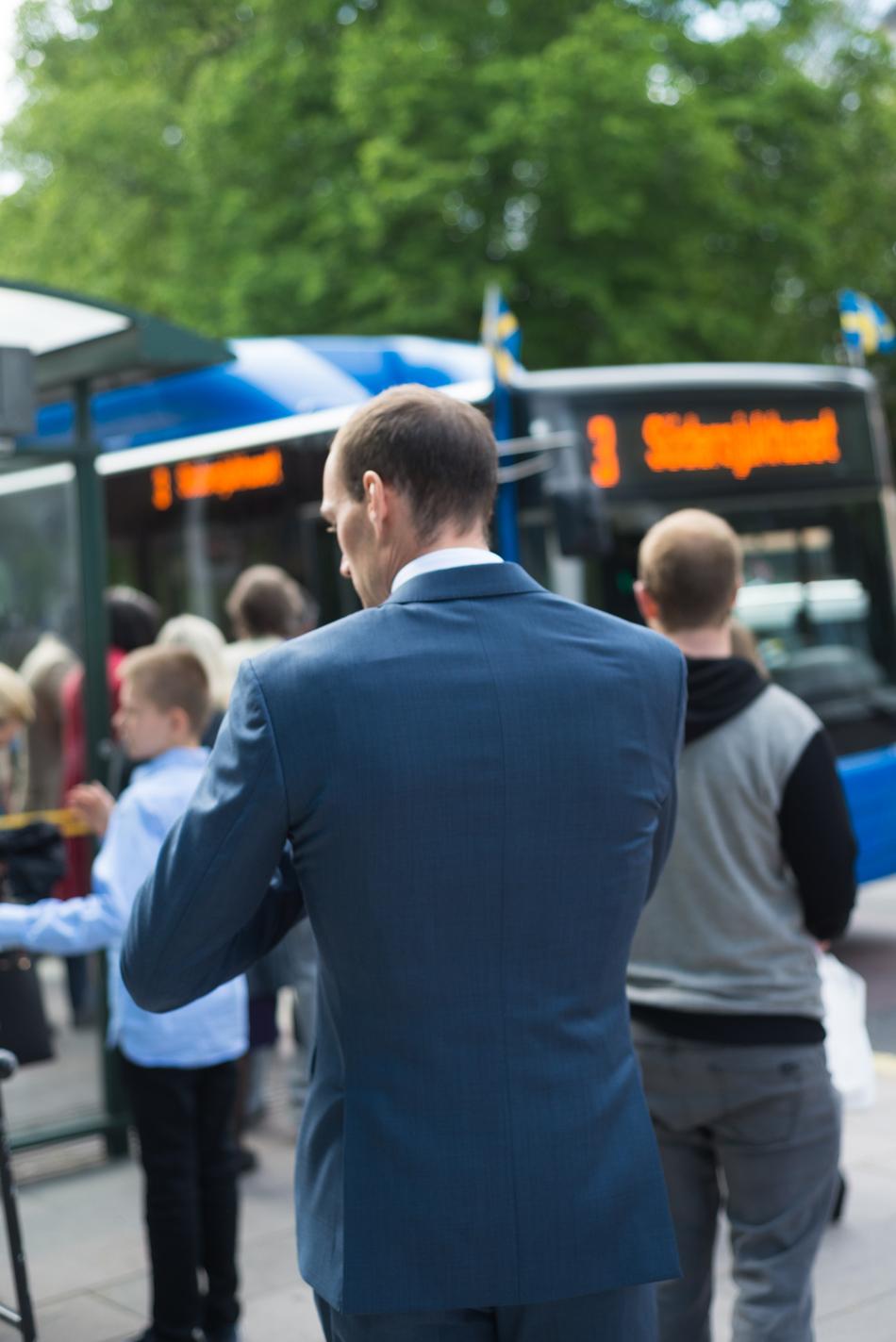 bröllop sl kollektivtrafik