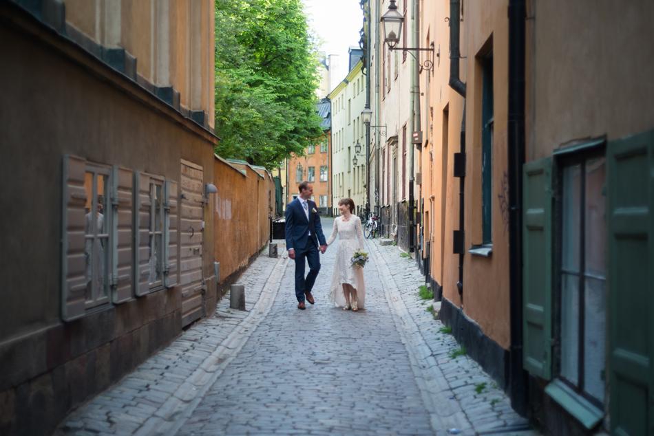 bröllopsfotograf gamla stan stockholm