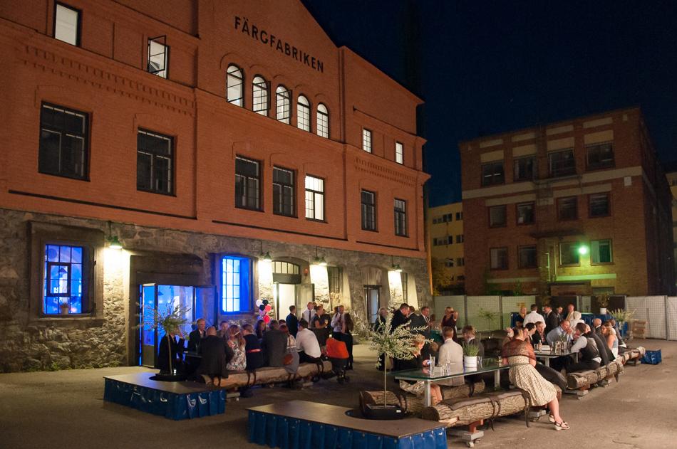 bröllopsfest färgfabriken stockholm