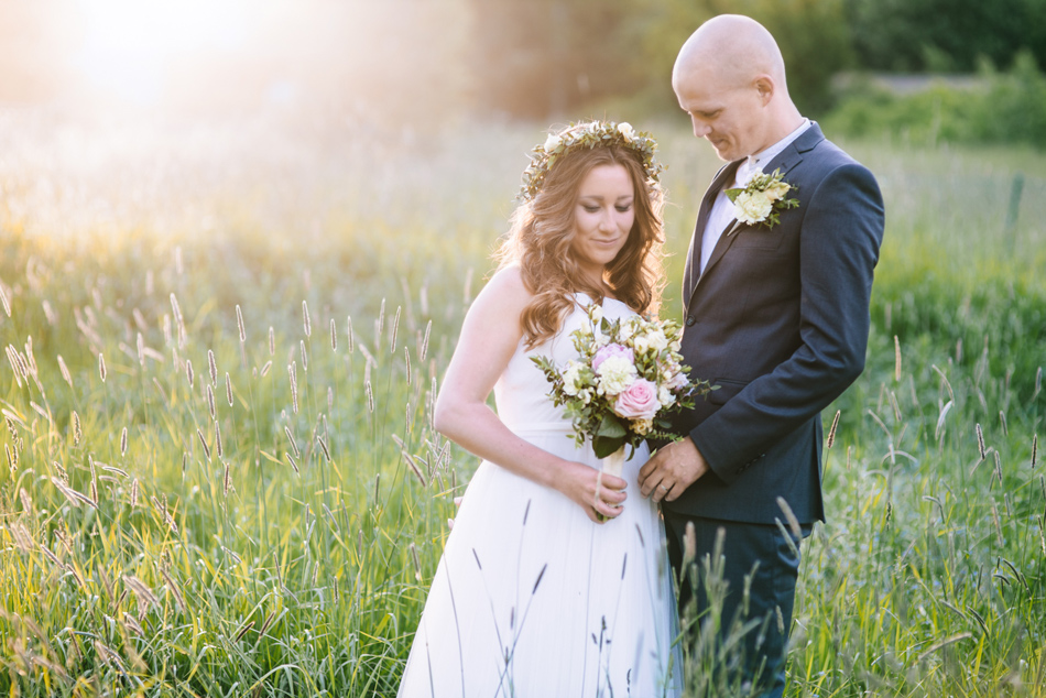 romantic midsummer wedding