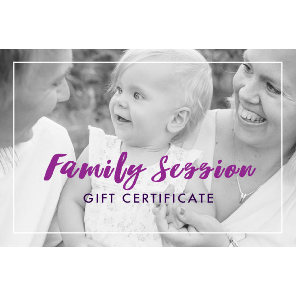 gift certificate family