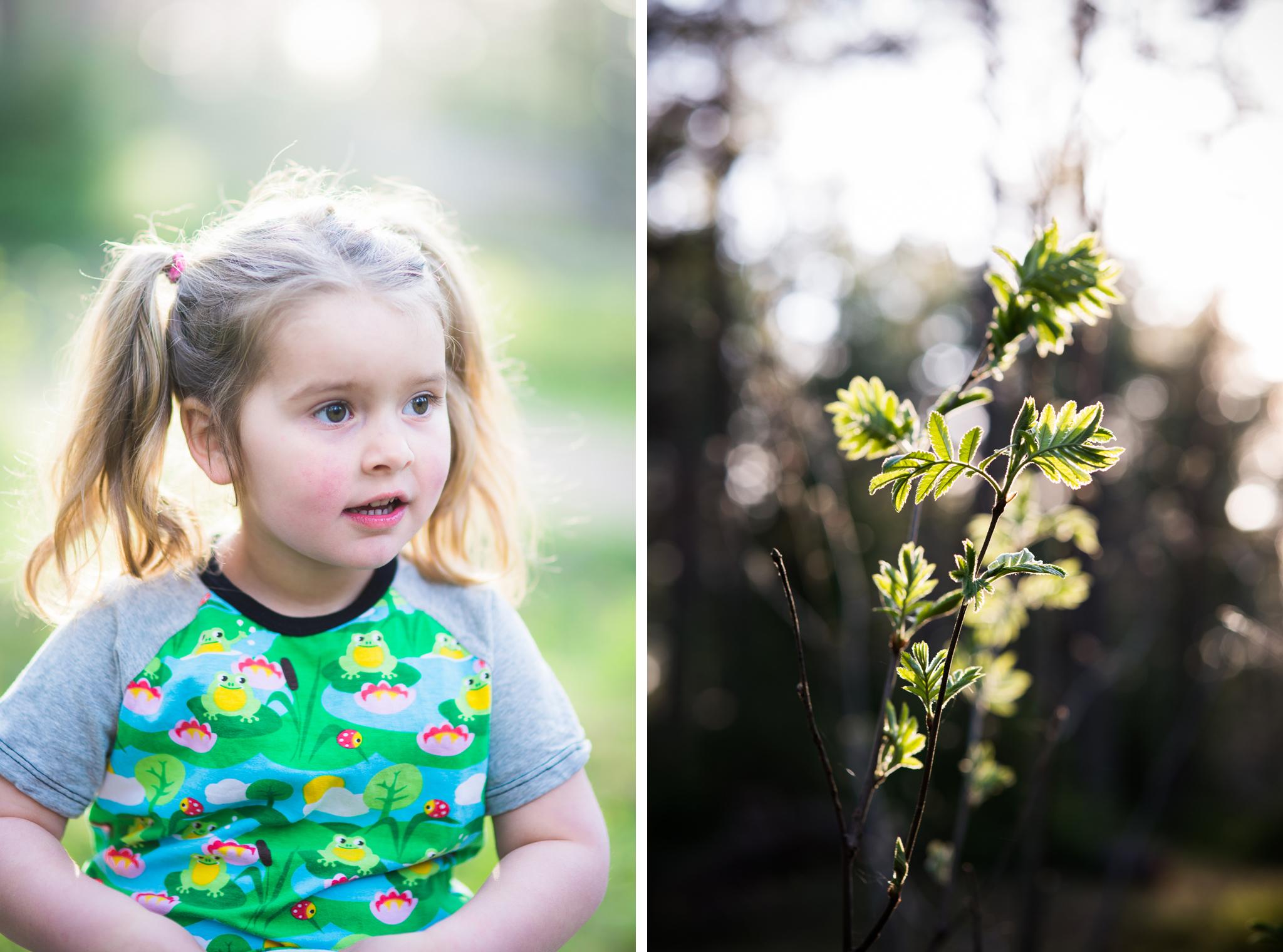 barnfotografering pa varen