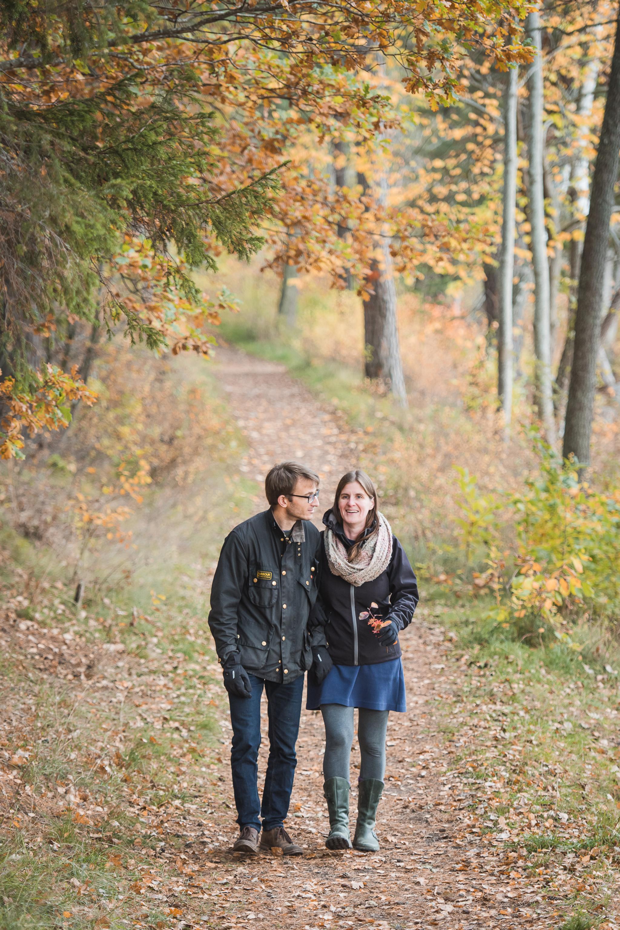 romantisk promenad pa upplandsleden