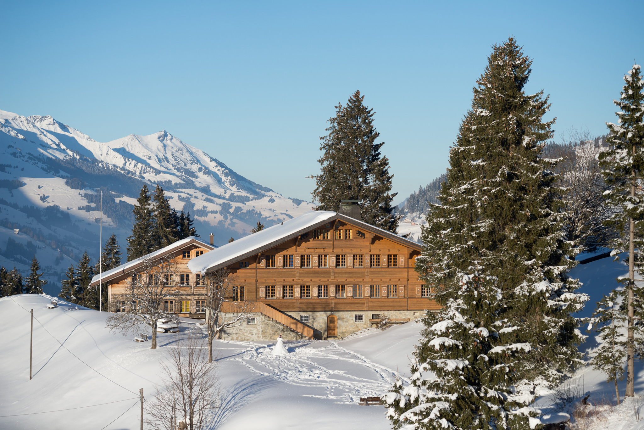 our chalet international scout and guide centre in adelboden swi