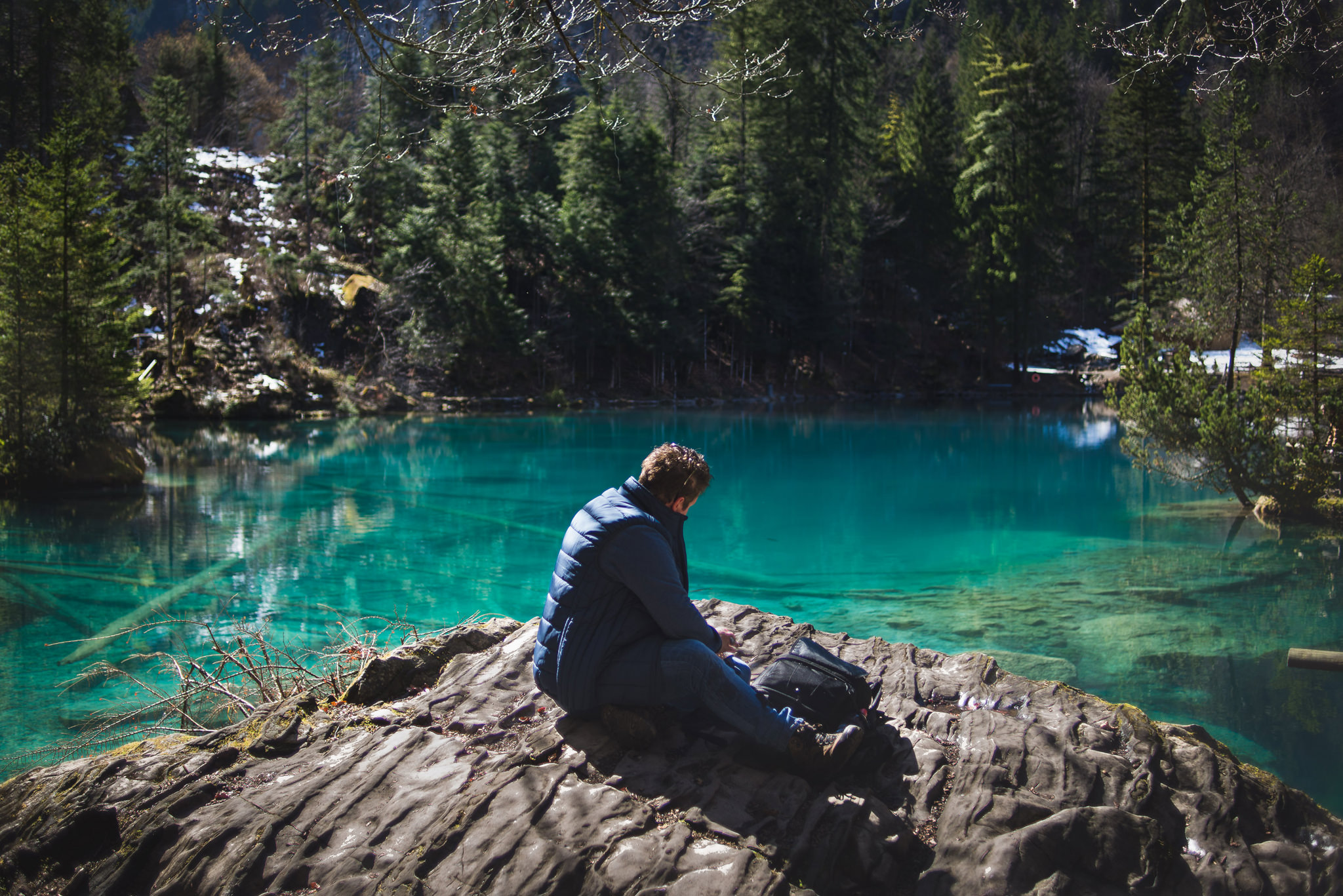 blausee kandertal switzerland