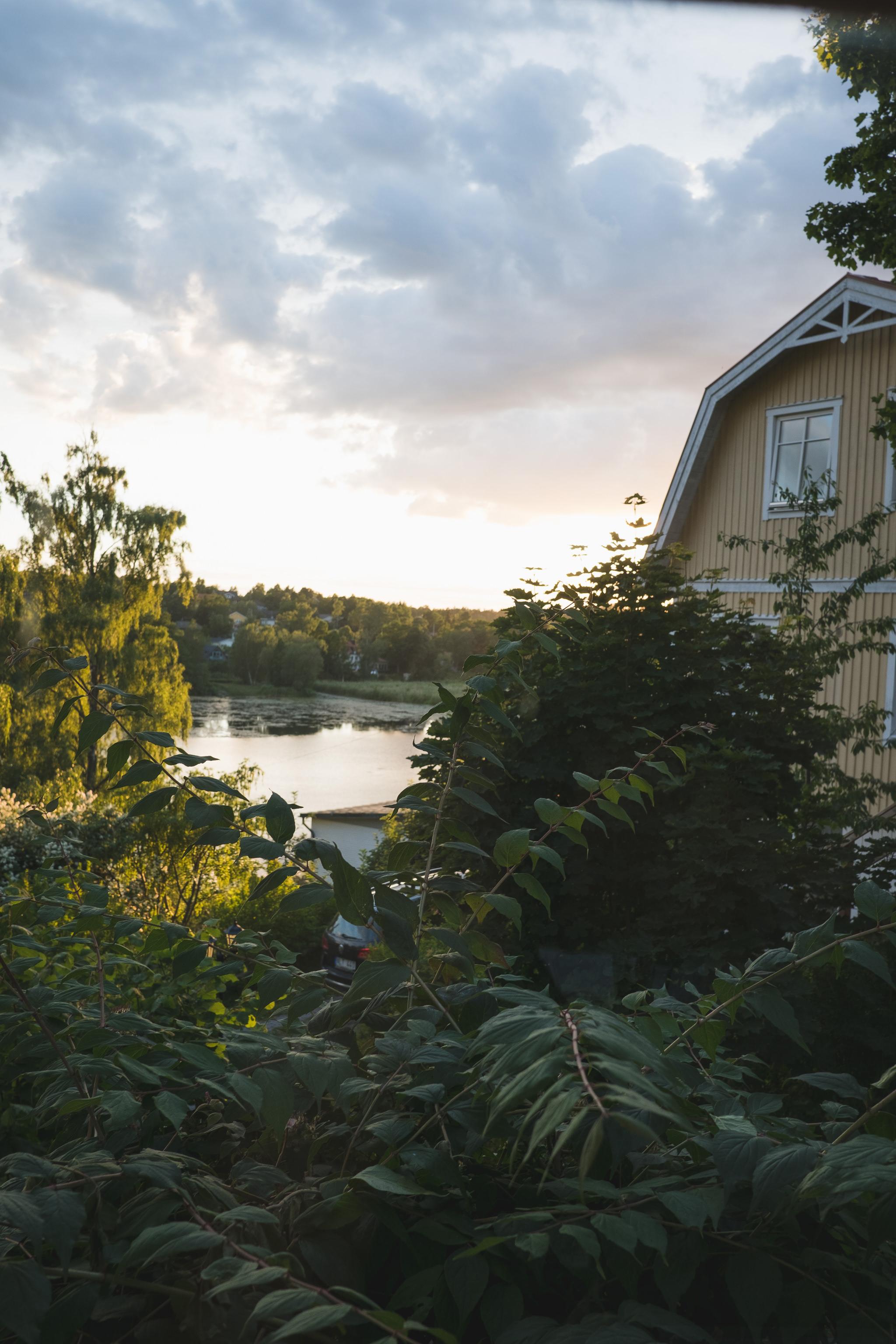 villatradgard utanfor stockholm