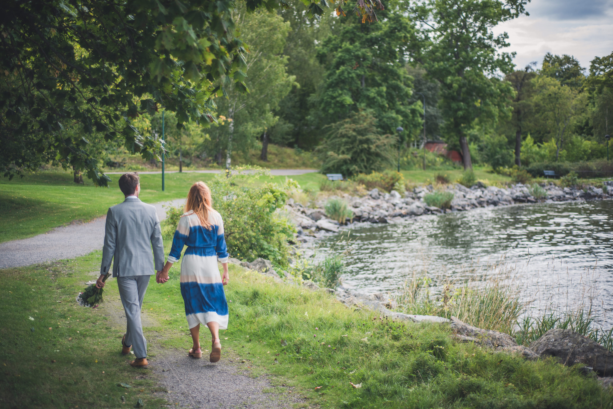 elopement wedding at djurgarden in stockholm