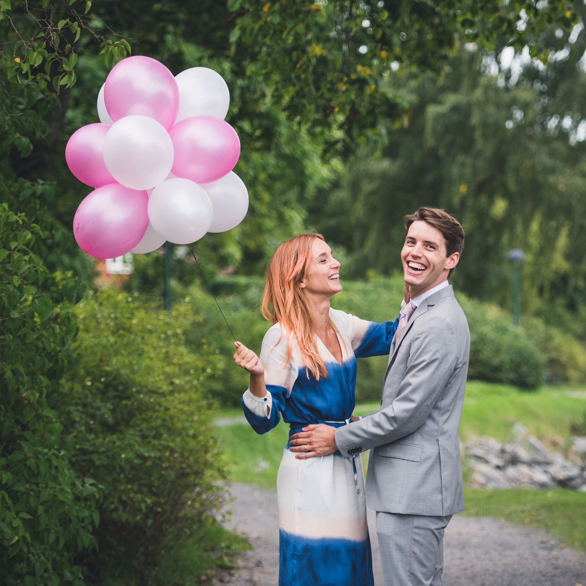 wedding balloons make everyone happy